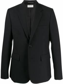 Saint Laurent однобортный пиджак 507472Y640W