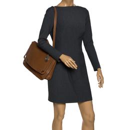 Cartier Tan Leather Marcello de Cartier Top Handle Bag 284739