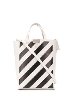Off-White сумка-тоут в полоску OWNA039R204230690210