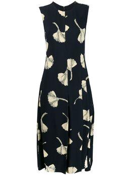 Victoria Beckham расклешенное платье с принтом 1120WDR000747A