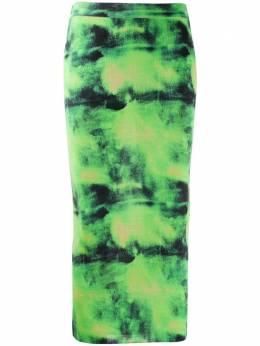 Versace юбка-карандаш с принтом тай-дай A85411A233119