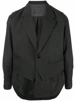 Fumito Ganryu многослойная рубашка FU2SH10