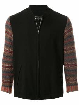 Comme Des Garcons Pre-Owned куртка с контрастными рукавами PJ04068L