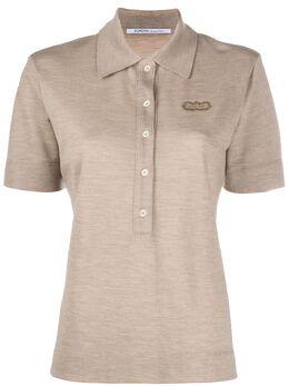 Agnona кашемировая рубашка-поло UJ007T601OL