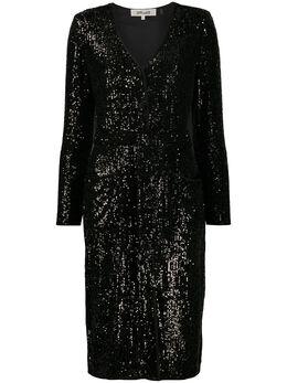 Dvf Diane Von Furstenberg коктейльное платье Melina с пайетками 13620DVF