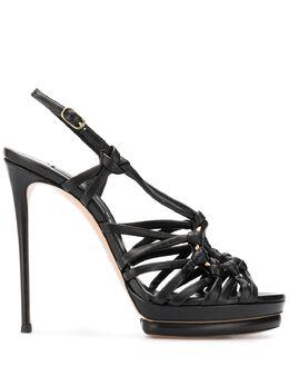 Casadei босоножки на высоком каблуке с ремешками 1L637P1201MNRCA
