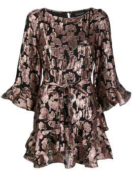 Saloni платье мини Marissa с пайетками 10308791