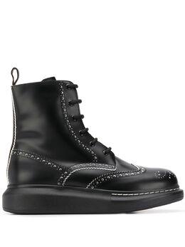 Alexander McQueen ботинки с перфорацией 611703WHX5C