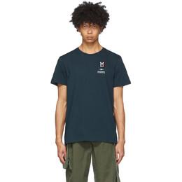 Phipps Blue Millet Edition Timeline Print T-Shirt MIV8928