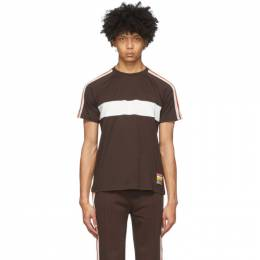 Wales Bonner Brown George T-Shirt MS20JE04-JER400B-880