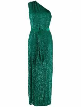 Retrofete декорированное платье на одно плечо HL202459