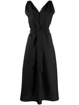 Brunello Cucinelli платье макси с поясом M0F79A4538C101