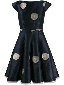 Talbot Runhof расклешенное платье Bonitou BONITOU1FE15