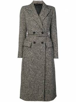 Ermanno Scervino checked double breasted coat D336D357CCAIP