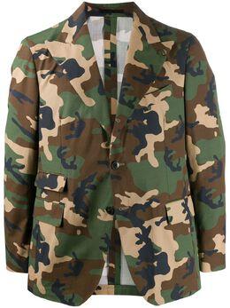 Gabriele Pasini пиджак с камуфляжным принтом G15079GP15468