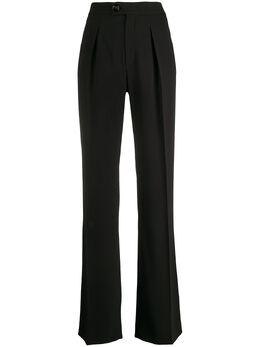 Chloe брюки широкого кроя со складками C20SPA98137
