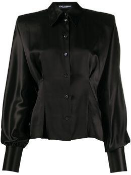 Dolce&Gabbana блузка на пуговицах F5L47TFU1AU