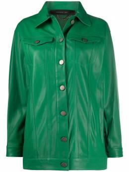 Federica Tosi куртка на пуговицах FTE20CP0290VPELLE