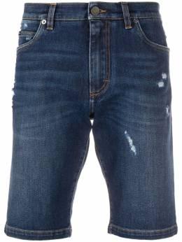Dolce&Gabbana джинсовые шорты кроя слим GY4JEDG8BE1