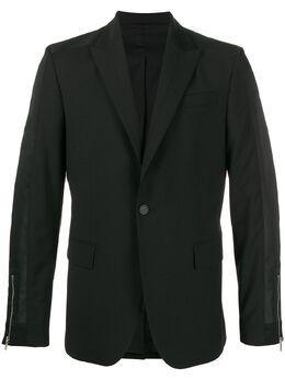 Les Hommes пиджак узкого кроя LIW203307B