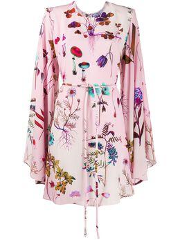 Stella McCartney платье Delia с цветочным принтом 600163SOA10