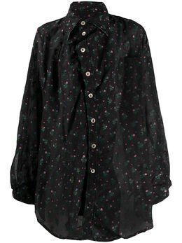 Vivienne Westwood Anglomania рубашка с цветочным принтом 1501003811055