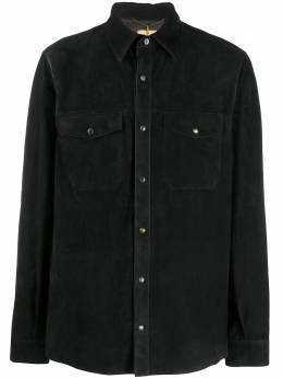 Ajmone рубашка с длинными рукавами и карманами SH2X2