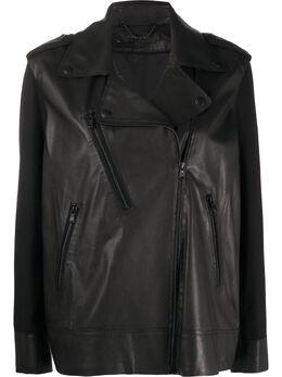 Federica Tosi байкерская куртка свободного кроя FTE20CP0350VPELLE