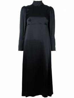 Simone Rocha платье с цветочной вышивкой 3759B0012