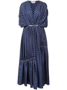 Gabriela Hearst платье в горох 'Winston' S18GH417