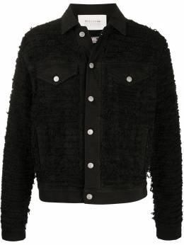 1017 Alyx 9Sm джинсовая куртка узкого кроя AZMOU0117FA02BLK0001