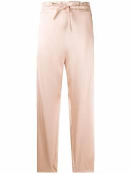 Maison Rabih Kayrouz укороченные брюки с кулиской P1201