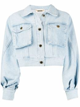 Alberta Ferretti укороченная джинсовая куртка V05181678