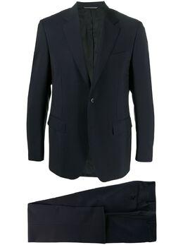 Canali костюм-двойка узкого кроя 1128019AM3011034
