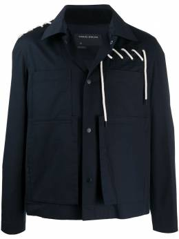 Craig Green легкая куртка со шнуровкой CGSS20CWOJKT08