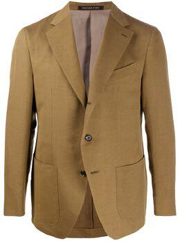 Caruso фактурный пиджак с карманами 504374ASM2