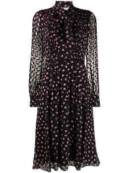 Dvf Diane Von Furstenberg платье в горох 13774DVF