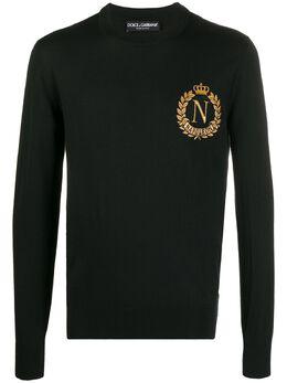 Dolce&Gabbana джемпер с вышивкой Napoleon GX841ZJAMP2
