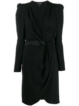 Giambattista Valli платье миди с запахом 19FWSVCI555812BLC