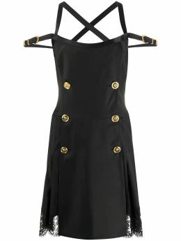 Versace двубортное платье мини A84715A231447
