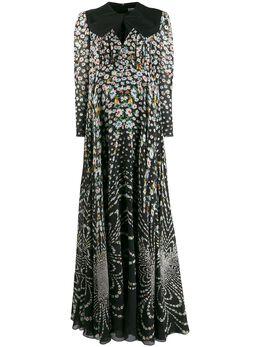 Givenchy вечернее платье с цветочным принтом BW20MG121G