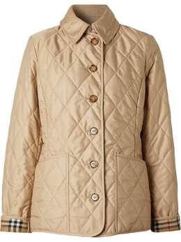 Burberry стеганая куртка с терморегуляцией 8023321