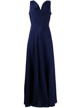 Aspesi платье с V-образным вырезом и драпировкой 29352753