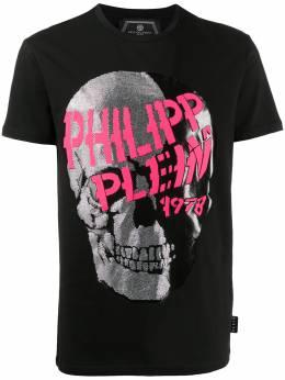Philipp Plein декорированная футболка S20CMTK4348PJY002N