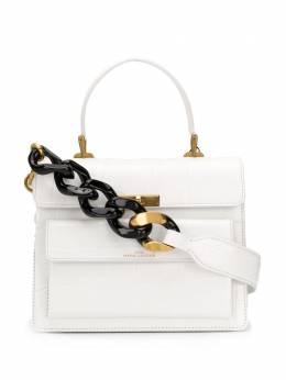 Marc Jacobs сумка на плечо The Uptown с тиснением под кожу крокодила M0015880100