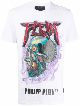 Philipp Plein футболка с принтом S20CMTK4288PJO002N