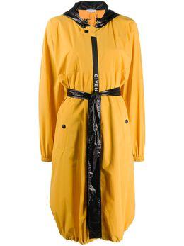 Givenchy плащ с капюшоном и поясом BW009212J3
