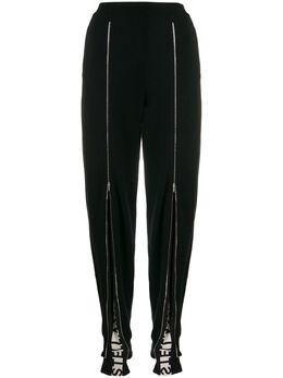 Stella McCartney трикотажные спортивные брюки на молнии 600040S2152