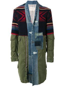 Greg Lauren куртка 50/50 Kimono Artist SS20M019