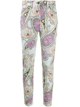 Etro джинсы скинни с завышенной талией 136969612